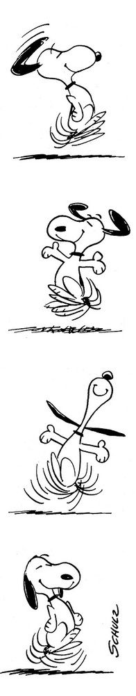 Snoopy - Happy Dance!