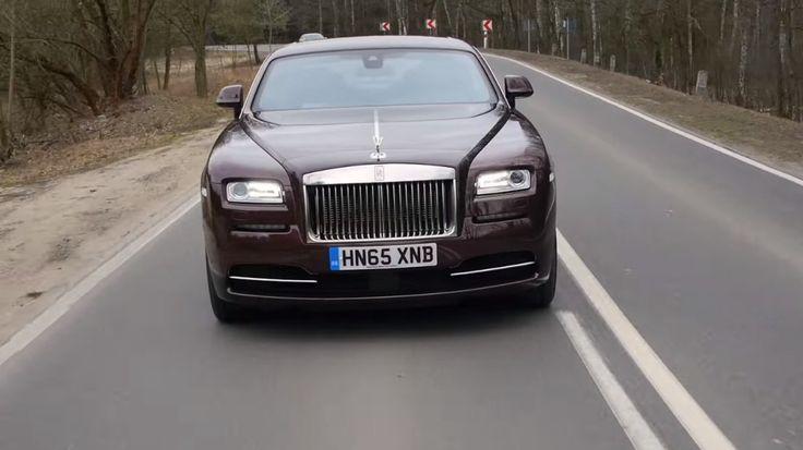 Rolls-Royce Wraith – pierwsza jazda próbna