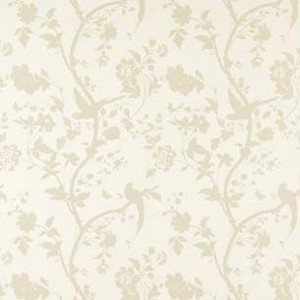Laura Ashley wallpaper Oriental Garden gold off white bird butterfly 2 available | eBay