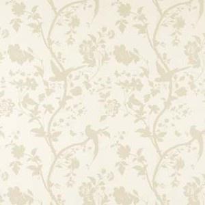 Laura Ashley wallpaper Oriental Garden gold off white bird butterfly 2 available | eBay