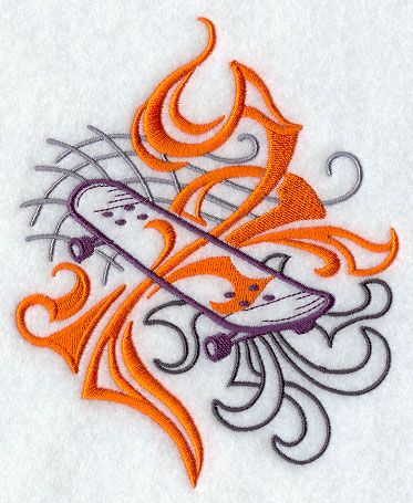 Machine Embroidery Designs at Embroidery Library! - Color Change - F9877