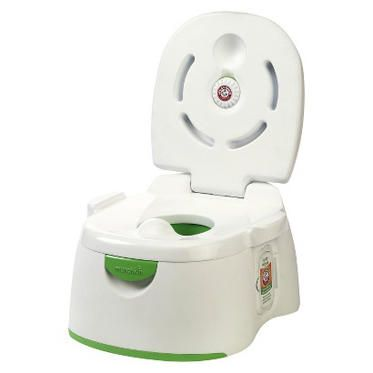 Easy to clean, durable, odor-free, and fun for a child to use – that's what parents looked for in the winning potty.
