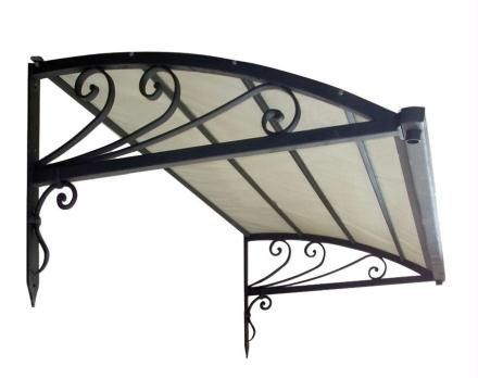 wrought iron canopy for doors and windows ANTIGUA BRIANZATENDE SPA