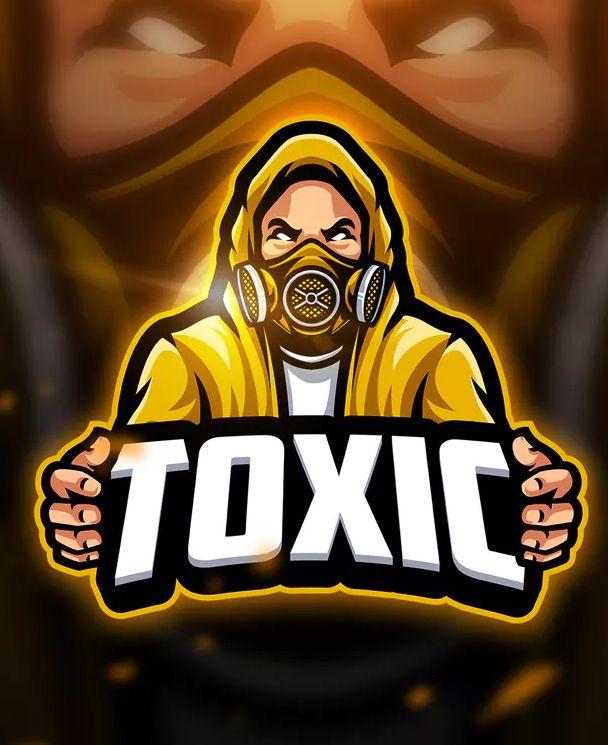 Toxic 2 - Mascot & Esport Logo Template AI, EPS  Download | Logo