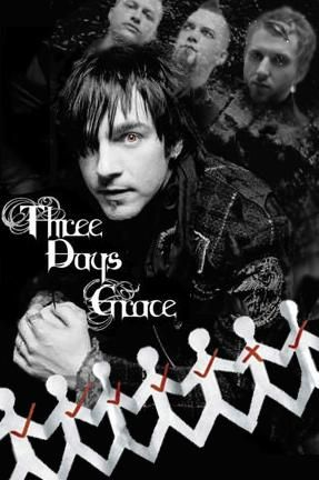 Three Days Grace Poster by BlackTrinity4277 on DeviantArt