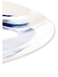 Indigo Storm Dinner Plate