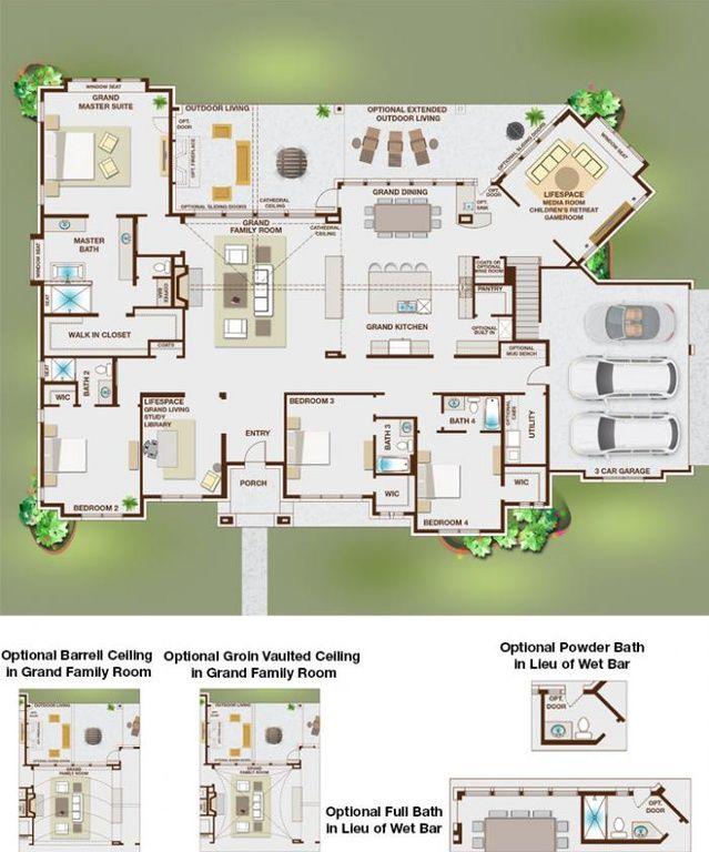 Grand Whitestone Plan Kings Crossing Parker Tx 75002 Zillow Grand Homes House Design House Floor Plans
