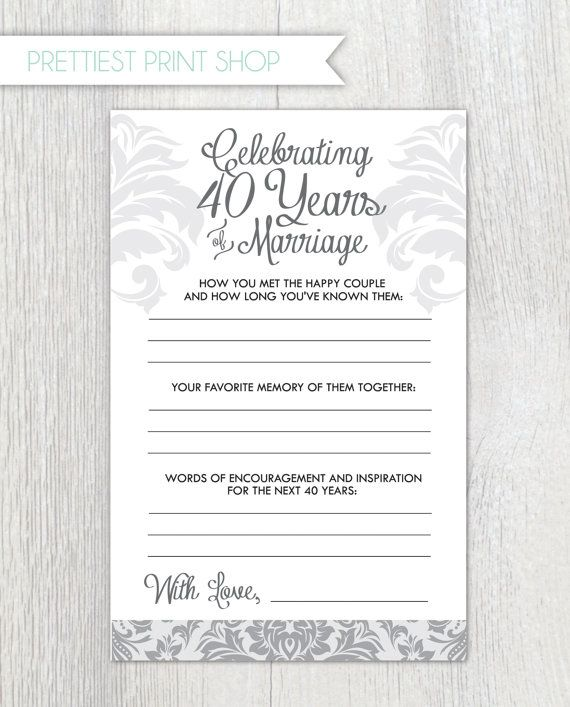 Printable anniversary party sheets  Damask  by PrettiestPrintShop, $10.00