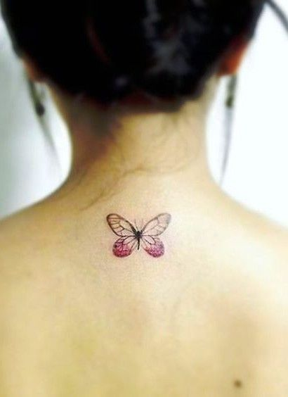 Little Purple Butterfly Design