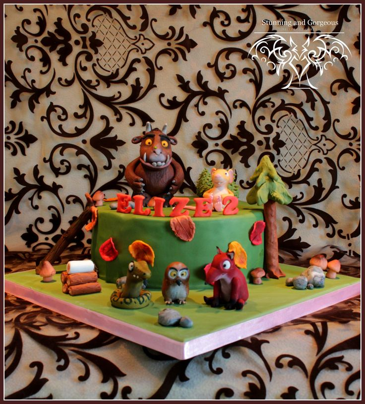 Cool Gruffalo cake made by stunningandgorgeous.nl (which is me )
