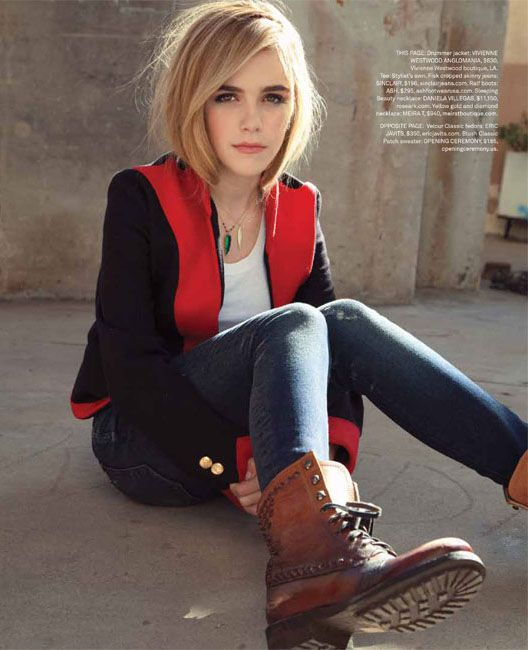 Kiernan Shipka by Hilary Walsh for Foam Magazine 2013. Obsessed with her. Why wasn't I this cool when I was 12?