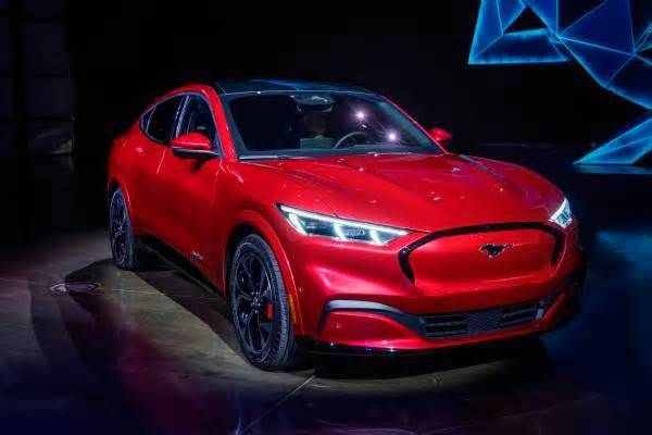 Latest News For Ford Mustang Mache 5 Tech And Design Details That Stood Out Ford Mustang Mustang Ford