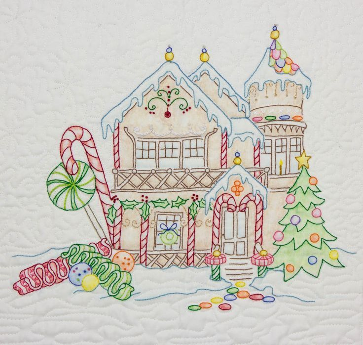 Gingerbread House Quilt Pattern Free : Crabapple Hill Patterns Free Crabapple Hill Studio Crab Apple Hill embroidery Pinterest ...