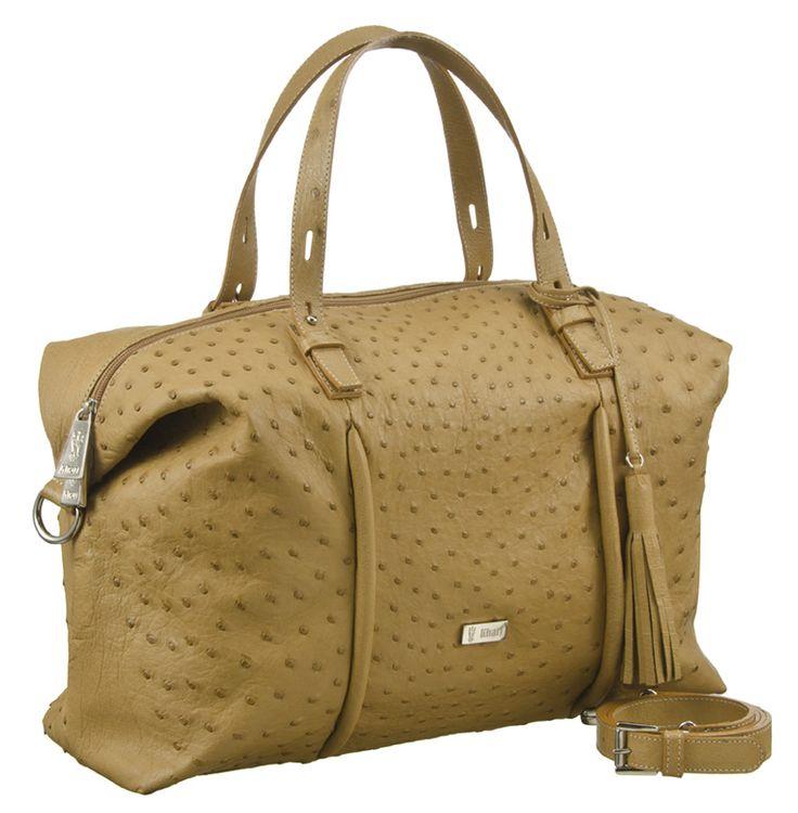 Khari Bag Trieste / Material Ostrich Leather / Dimensions: w39 x h24 x d14