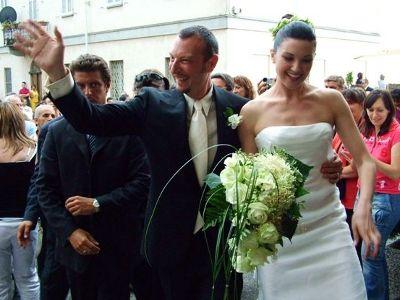 Matrimonio del conduttore Amadeus e Giovanna | Wedding designer & planner Monia Re - www.moniare.com | Organizzazione e pianificazione Kairòs Eventi -www.kairoseventi.it | Foto di www.kairoseventi.it