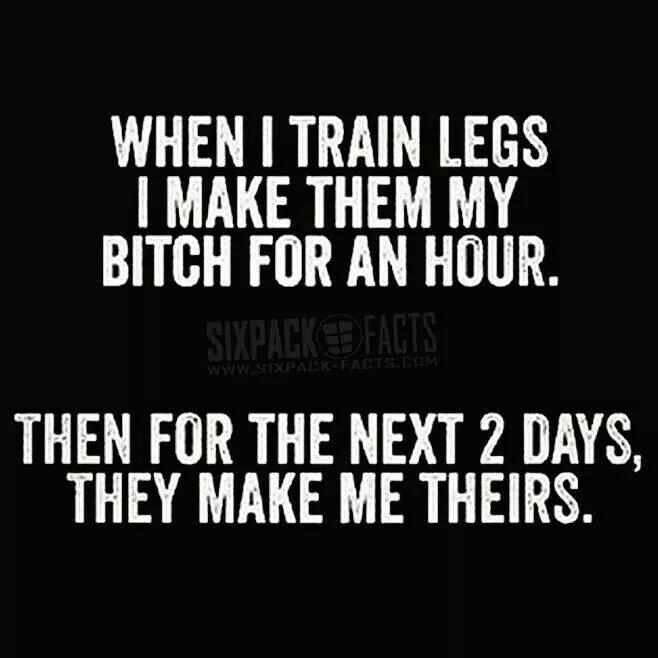 The soreness is real up to 2 days after  #GymLife