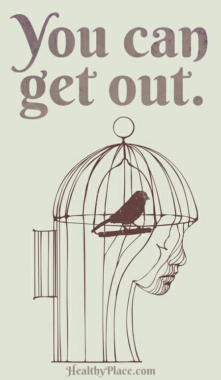 Get out!!  Narcissistic Abuse Recovery.