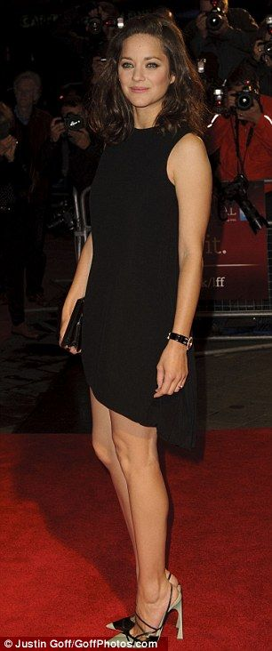 Marion Cottillard attends the BFI London Film Festival for the premiere of Rust and Bone