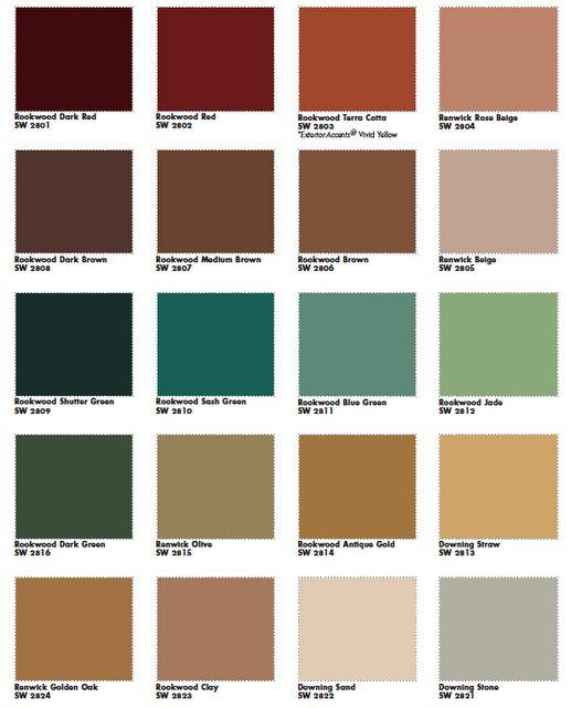 victorian palette