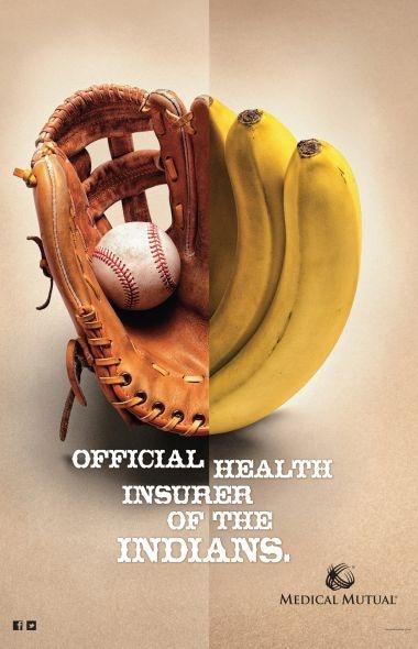 glove and bananas
