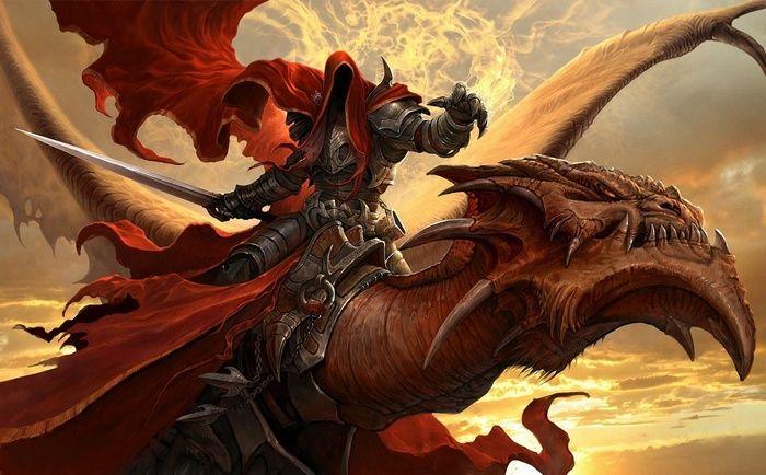 Warrior Fantasy Art Hoods Sword Dragon Armor Sunset Wallpaper Fantasy Dragon Dragon Rider Dragon Art Подскажите id dragon armor пожалуйста. warrior fantasy art hoods sword