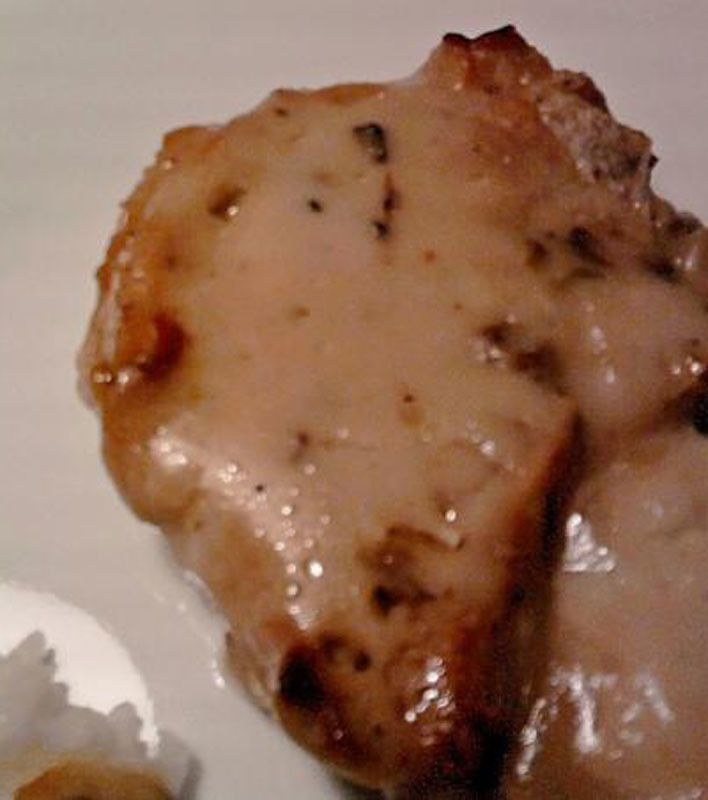 Pork Chops With Cream of Mushroom