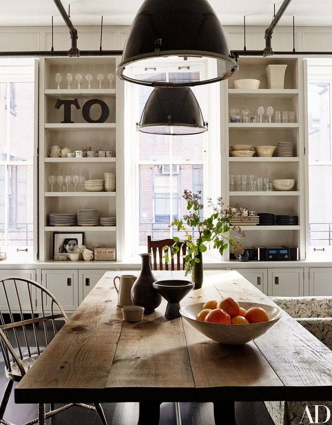 This gorgeous New York City loft is designed by Monique Gibson and architect Joel Barkley for movie star and now first-time director, Meg R...