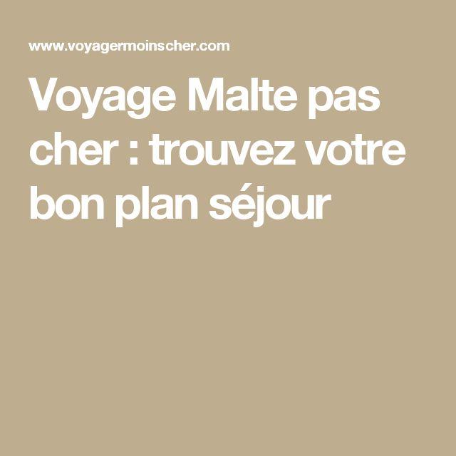 Voyage Malte pas cher : trouvez votre bon plan séjour
