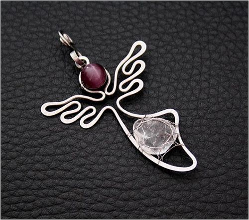 The Beading Gem's Journal: Whimsical Wire Jewelry by Charliee