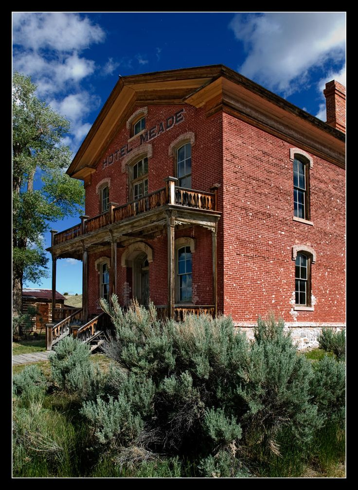 hotel meade ghost town of bannock montana photo by. Black Bedroom Furniture Sets. Home Design Ideas