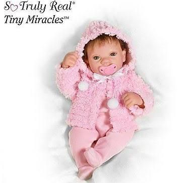 realistic baby doll tiny miricals - Google Search
