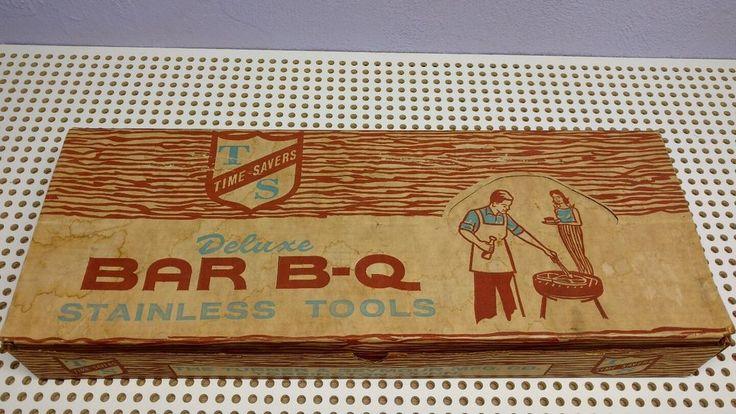 vintage bbq grill utensils utensils made in Torrington Connecticut USA #TSTimeSaver