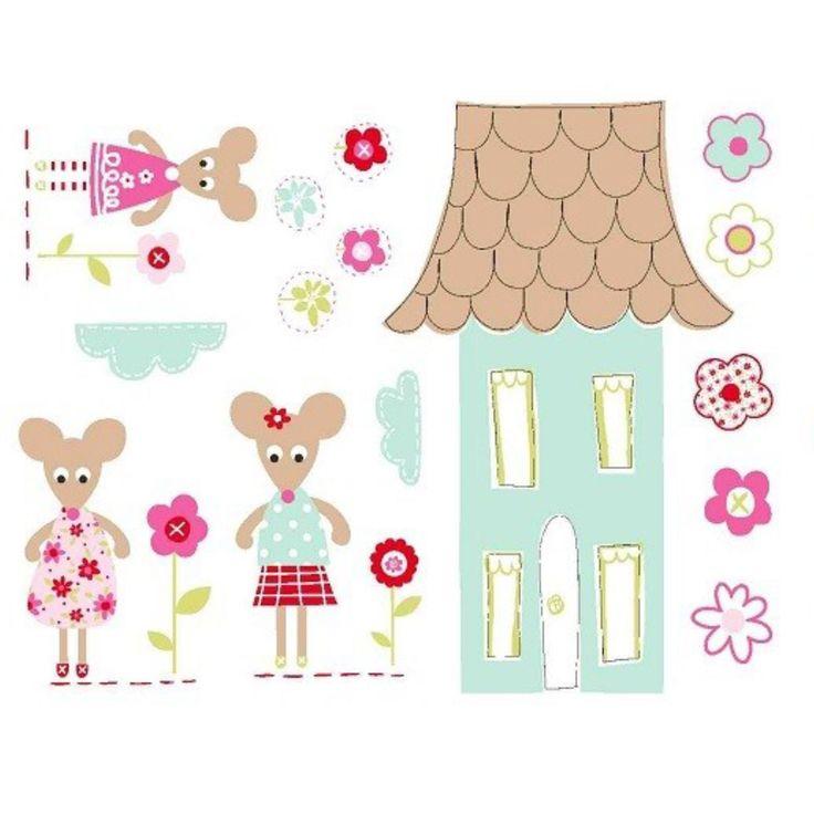Las 25 mejores ideas sobre pegatinas de pared en for Pegatinas habitacion infantil
