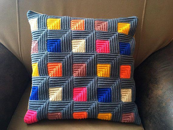 Decorative Throw Pillow case Multicoloured Cushion caver