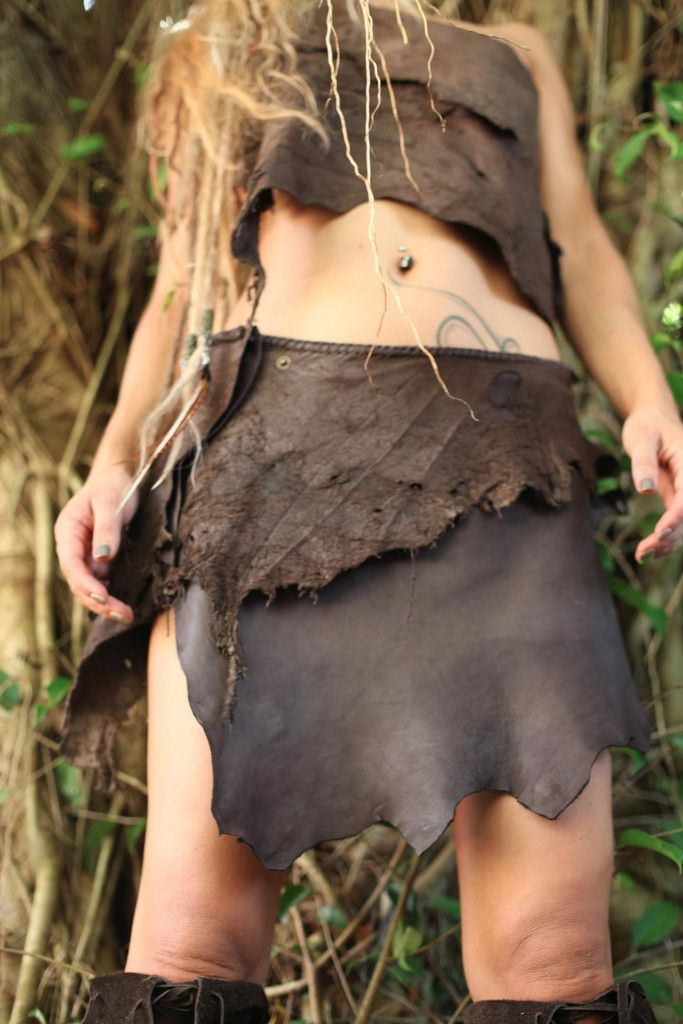 Leather Skirt - Short Brown Leather Skirt | Gipsy Dharma | GiPSY Dharma unique handmade clothing and leather boots for women