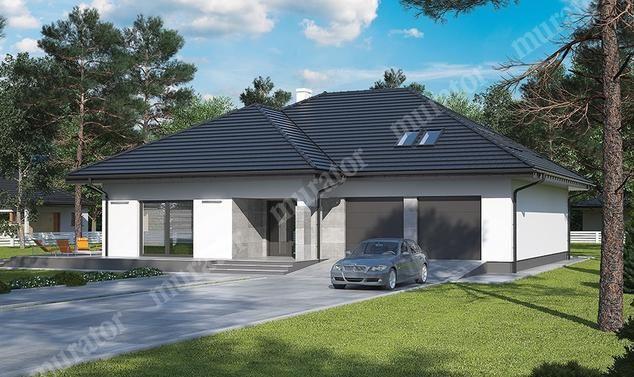 projekt domu C329 Tymiankowy (podpiwniczony) - projekty.muratordom.pl