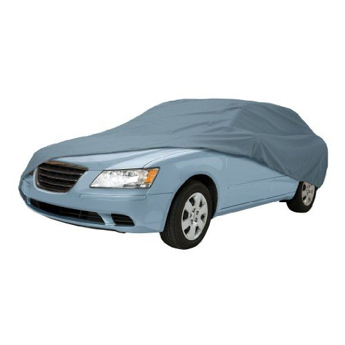 Classic Accessories 10-010-051001-00 OverDrive PolyPro I Full Size Sedan Car Cover - Classic Accessories OverDrive Polypro 1 Full Size Car Cover for Sedan is a fabric is water repellent yet breathes to reduce mold and mildew. It protects against dirt, scratches and harmful UV rays, and is perfect for storage and moderate UV weather protection. Fits sedans 191 inch - 210 inch long...