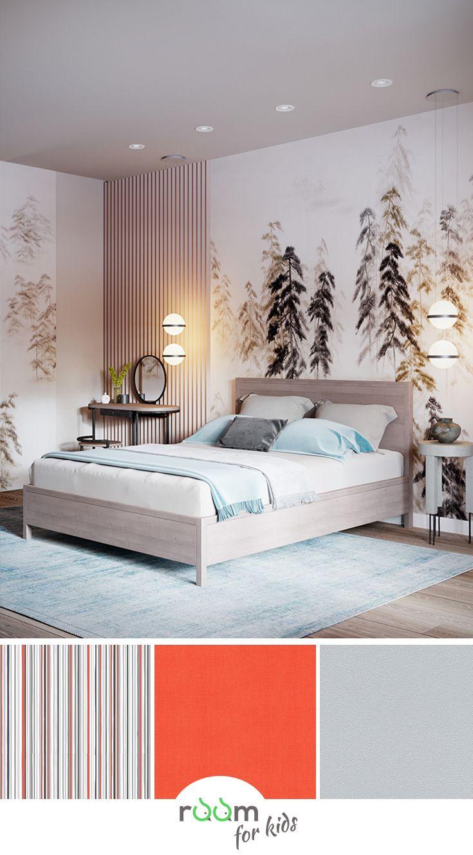 Inspiration Jugendzimmer Madchen Wandgestaltung Mit Fototapete