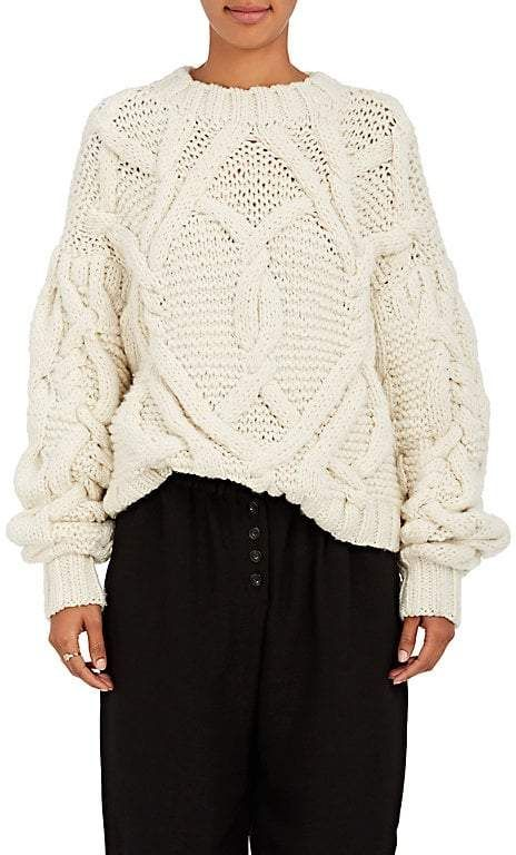 654a2231df36 Ulla Johnson Women s Pilar Cable-Knit Wool Sweater