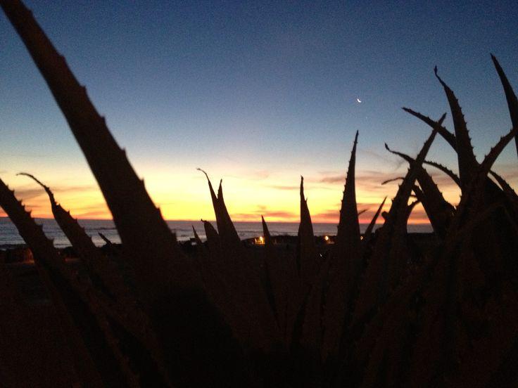 Blouberg sunset