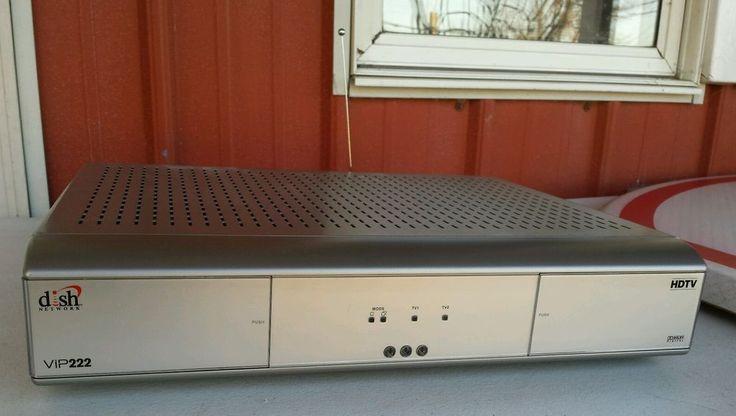 DISH NETWORK VIP222 HD SATELLITE TV RECEIVER - DOLBY DIGITAL - DE20 - HDMI - USB…