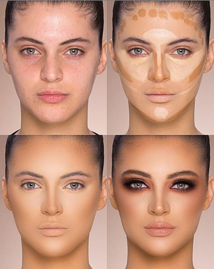 24 Perfect And Best Contour Highlight Makeup Tutorial For Beginners – Page 14 of 24