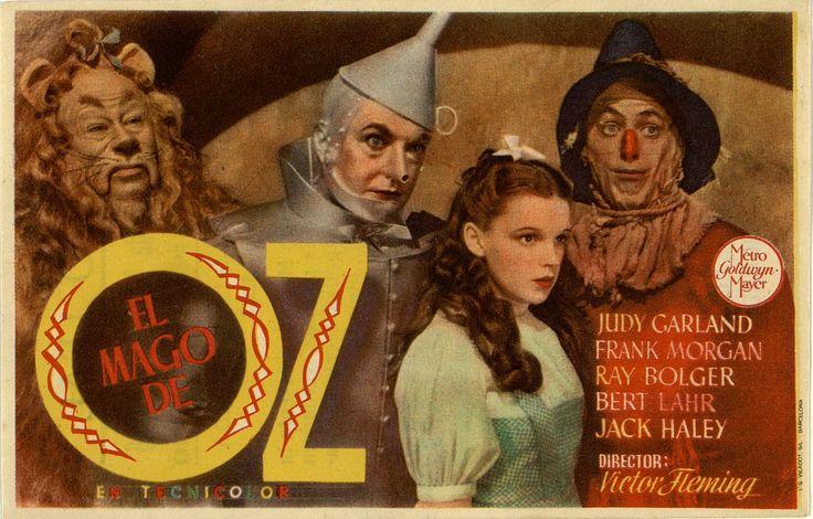 235.  Mago de Oz, El. Dirigida por Victor Fleming. Barcelona: I. G. Viladot, 1946.  #ProgramasdeMano #BbtkULL #Musicales #DiadelLibro2014