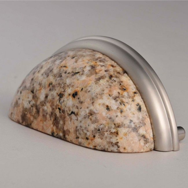 kitchen knobs verses pulls   CP90 G682 Granite Pull - Knobs, Pulls and Handles for Cabinets ...