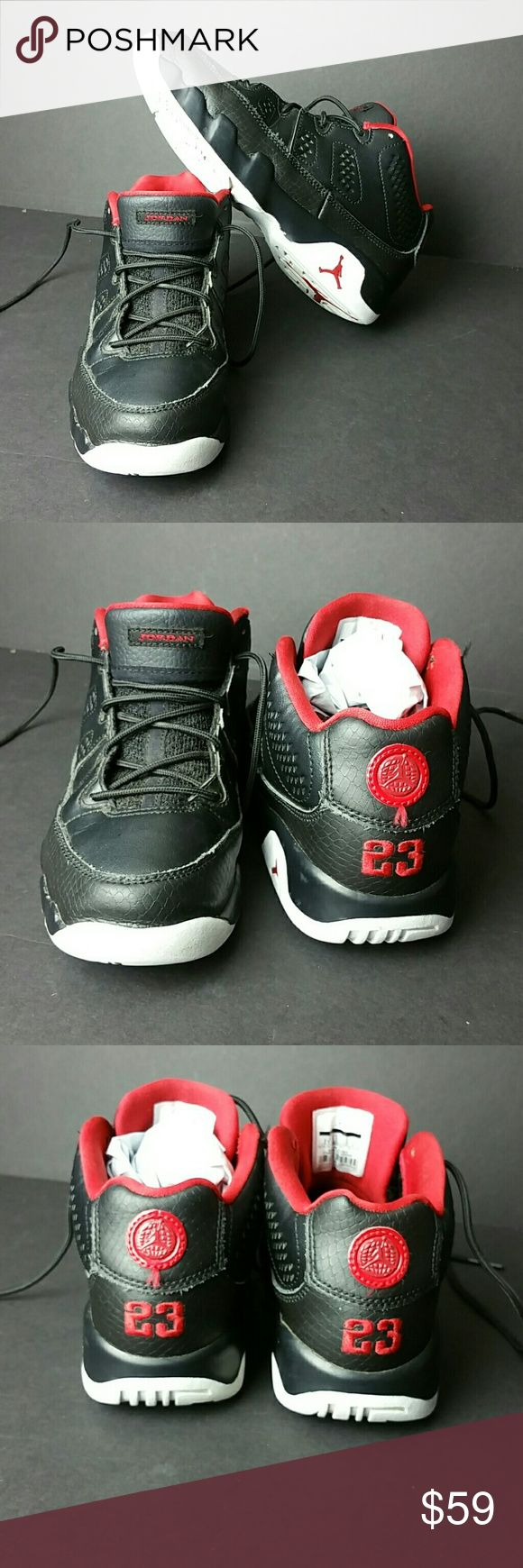 AIR JORDAN 9 RETRO LOW YOUTH SHOES VERY CLEAN INSIDE-OUT   YOUTH SIZE 2Y BIG KIDS   SKE # LT Air Jordan Shoes Sneakers