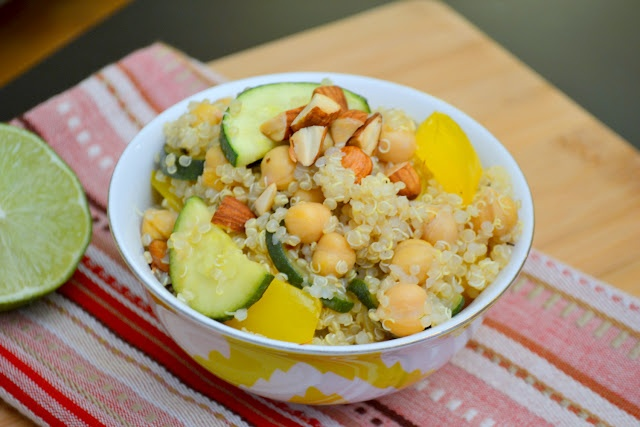 Quinoa Salad with Toasted Almonds | Gluten Free | Pinterest