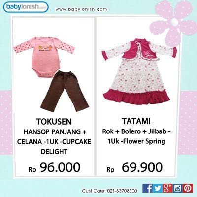 Untuk menyambut Lebaran, yuk dapatkan koleksi baju hijab untuk putri Anda.  Hanya dari Tatami & Tokusen. Merek terpercaya yang telah memiliki sertifikat SNI.  www.babylonish.com