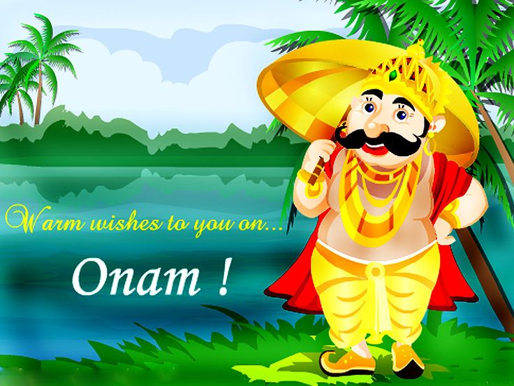 Onam Wishes from partycenter.in