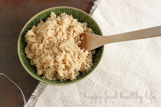How to Perfectly Prepare Quinoa - Happy Food, Healthy Life
