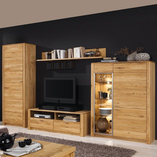 15 must see wohnwand eiche pins holzboden eiche parkett. Black Bedroom Furniture Sets. Home Design Ideas